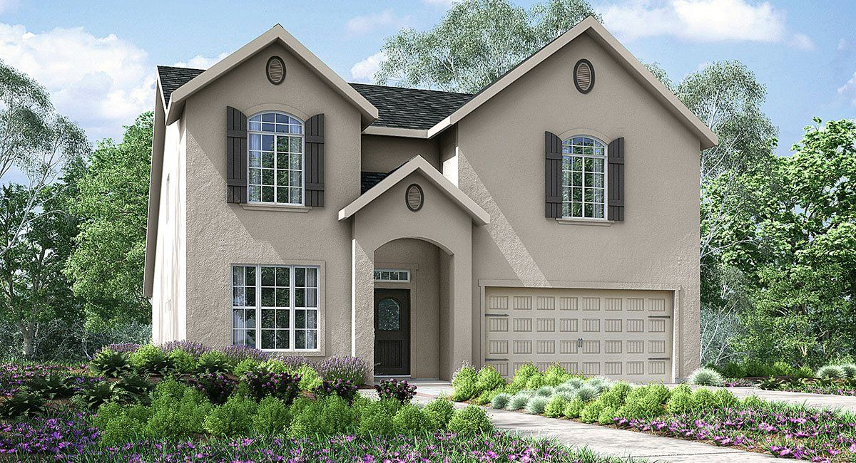 Single Family for Sale at Vistas - Chateau Series - Marquis 2424 N Shady Street Visalia, California 93291 United States