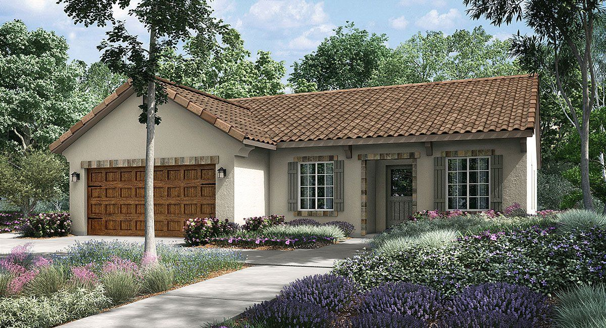 Single Family for Sale at Mountain Gate - California Series - Torrey 9307 Wellfleet Drive Bakersfield, California 93313 United States