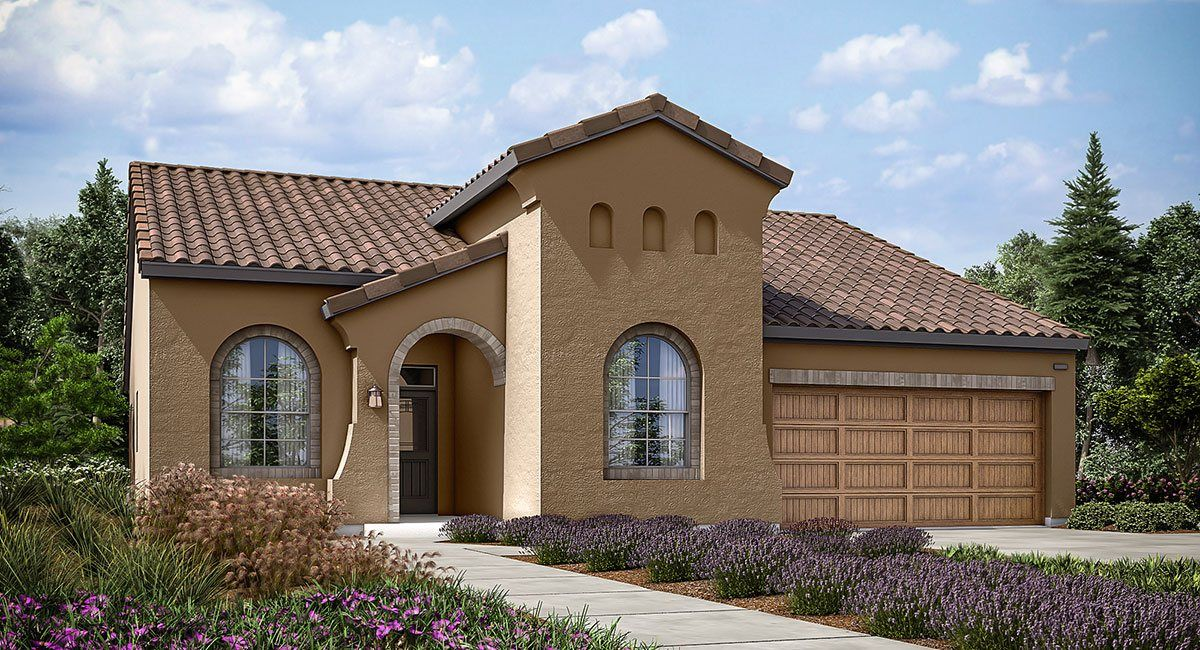 Lennar mountain gate california series foxtail 1255453 for Custom home builders bakersfield ca