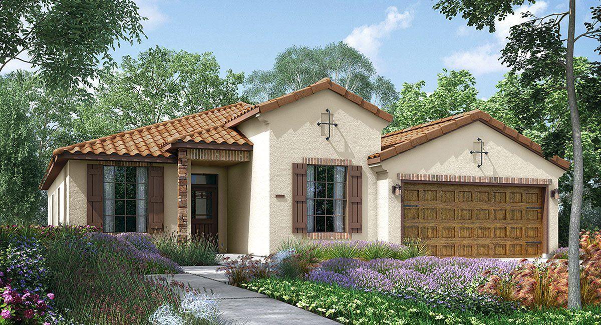 Single Family for Sale at Mountain Gate - California Series - Ponderosa 9307 Wellfleet Drive Bakersfield, California 93313 United States