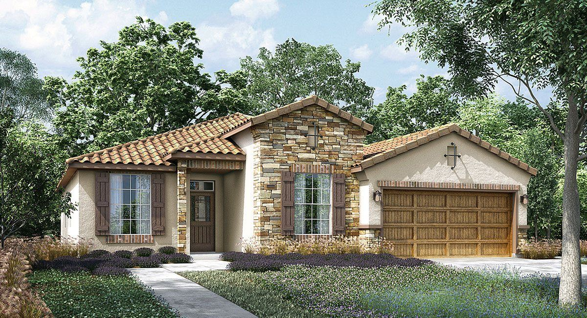 Lennar mountain gate california series foxtail 1255453 for New homes in bakersfield