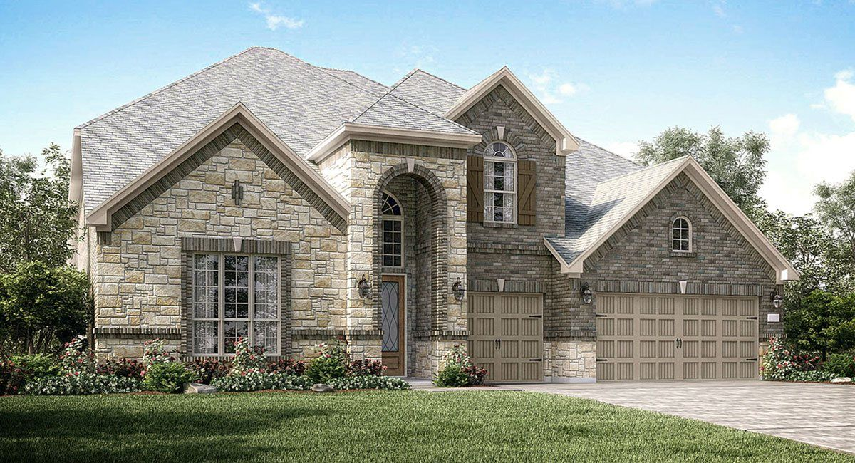 Single Family for Sale at Southern Trails: Wentworth Collection - Chatham 11701 Gates Ridge Court Pearland, Texas 77584 United States