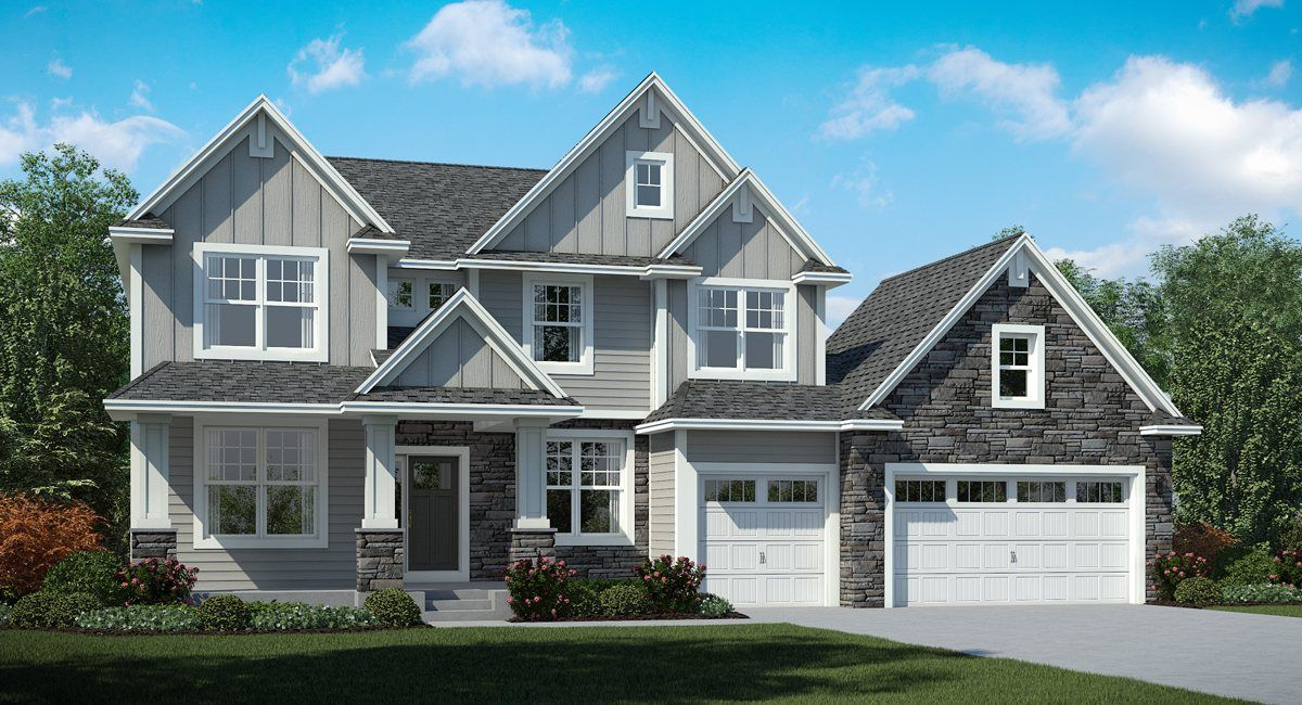 Lennar camden ridge classic collection remington 1316097 for Houses in chanhassen mn