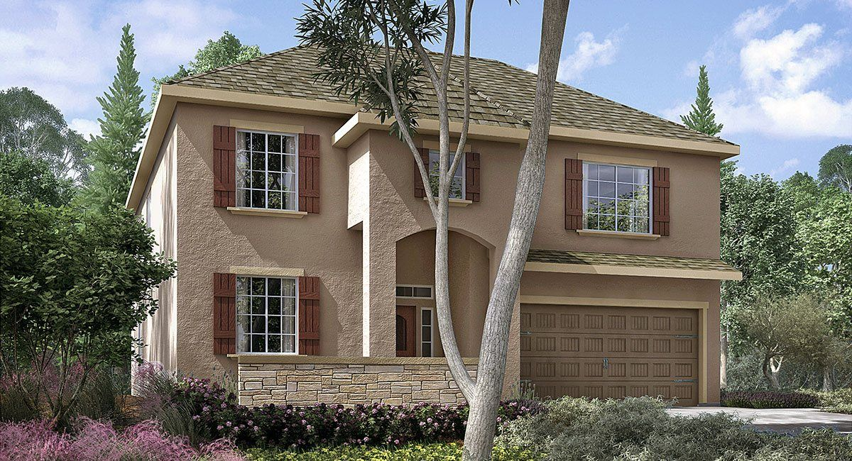 Single Family for Sale at Vistas - Chateau Series - Chevalier 2424 N Shady Street Visalia, California 93291 United States