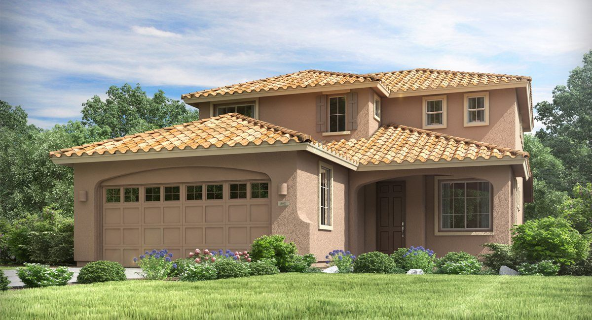 Lennar discovery at santiago freedom home within a for Home design 85032
