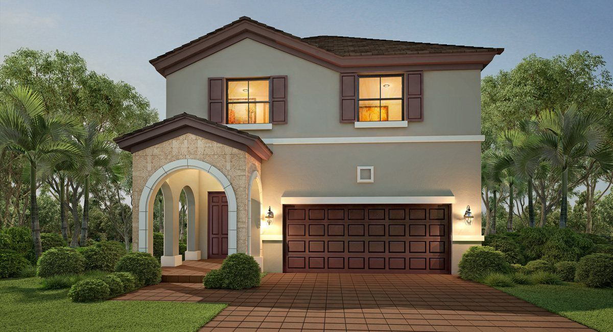 Single Family for Active at Aquabella - The Waterways Collection - Turquesa 10220 W 32 Way- Gps Use 15944 Nw 97 Ave Hialeah, Florida 33018 United States
