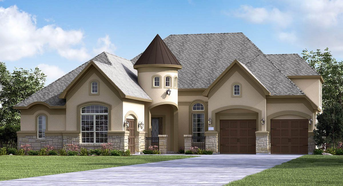 Single Family for Active at Graystone Hills - Classic And Kingston Collections - Brigsby 2042 Graystone Hills Drive Conroe, Texas 77304 United States
