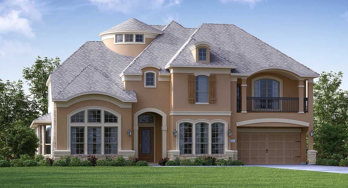 Single Family for Active at Graystone Hills - Classic And Kingston Collections - Stanton 2042 Graystone Hills Drive Conroe, Texas 77304 United States