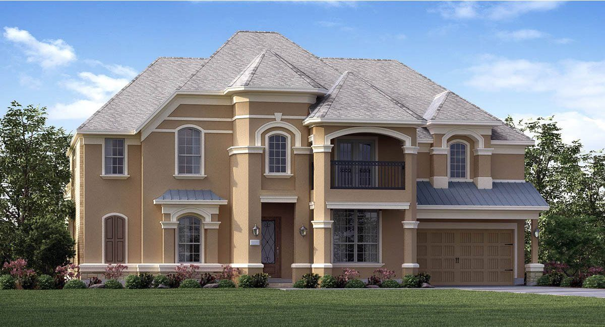 Single Family for Active at Woodtrace - Classic And Kingston Collections - Bellview 1002 Angel Forest Court Pinehurst, Texas 77362 United States