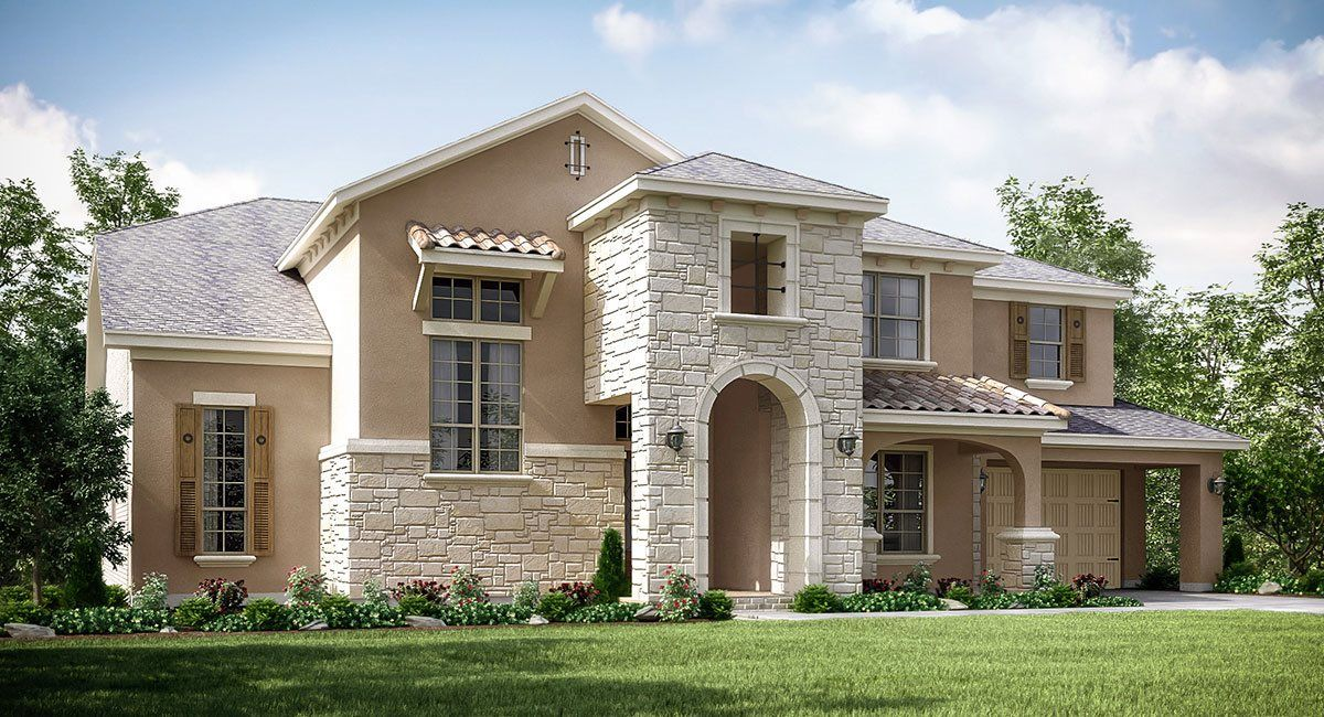 Single Family for Active at West Ranch - Renaissance Collection - Castello 2420 Morning Ridge Lane Friendswood, Texas 77546 United States