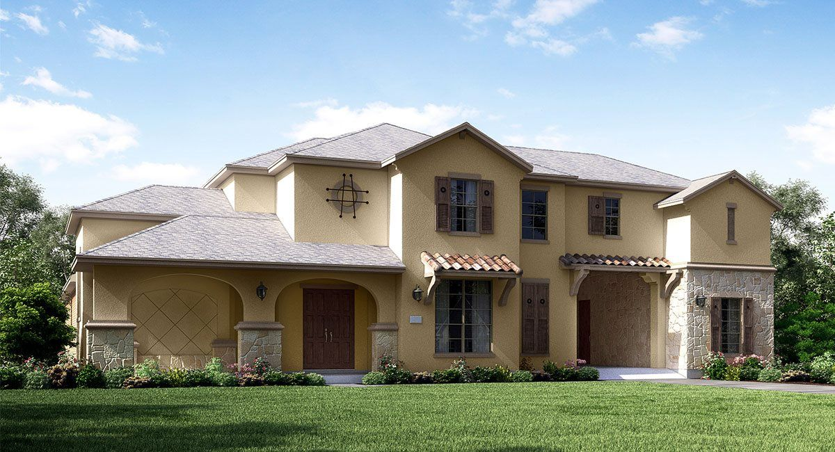Single Family for Active at West Ranch - Renaissance Collection - Palazzo 2420 Morning Ridge Lane Friendswood, Texas 77546 United States