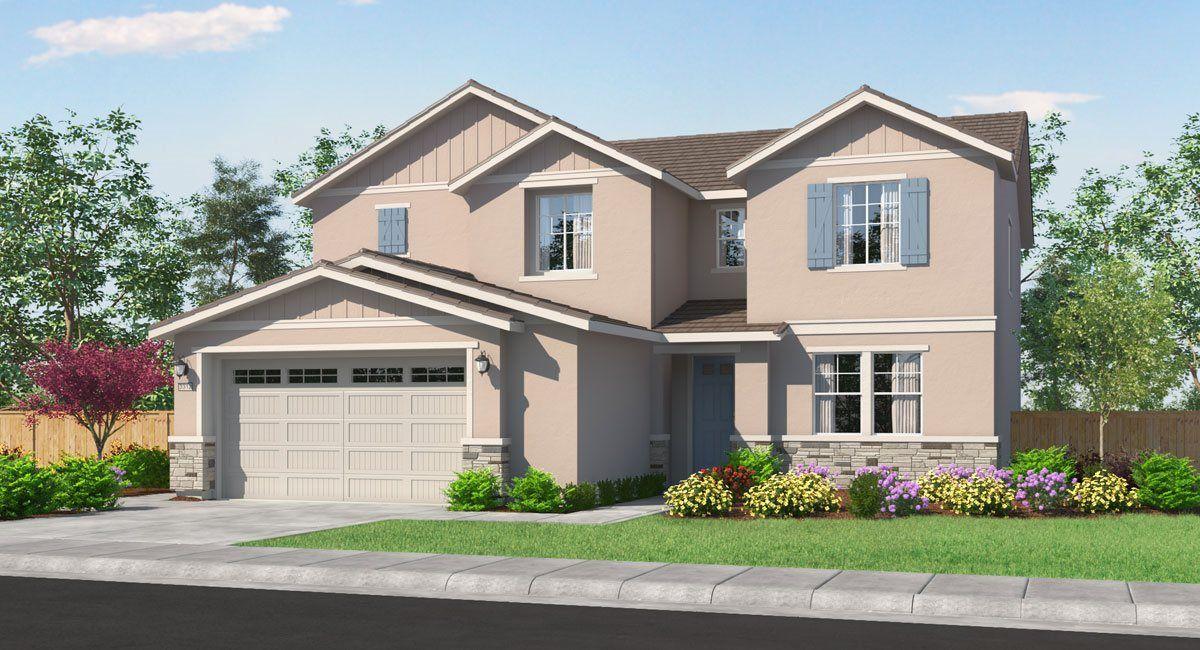 单亲家庭 为 销售 在 Residence 3175 12750 Blueblanc Way Rancho Cordova, California 95742 United States