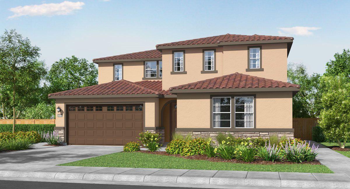 单亲家庭 为 销售 在 Residence 3312 12779 Blueblanc Way Rancho Cordova, California 95742 United States