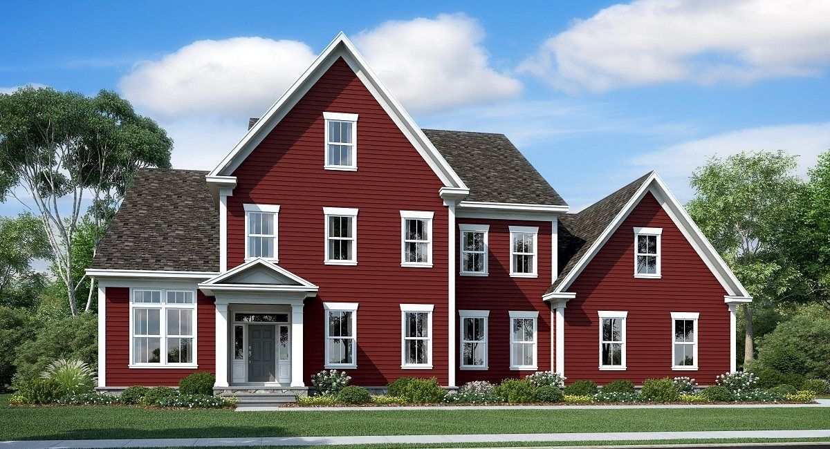 Single Family for Active at Glenbury - Glenbury Estates - Coventry 42821 Souther Drive Centreville, Virginia 20120 United States