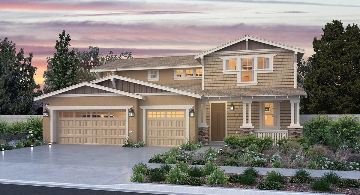 Unifamiliar por un Venta en Gabion Ranch - Stonegate - Residence Three 5318 Heitz Street Fontana, California 92336 United States