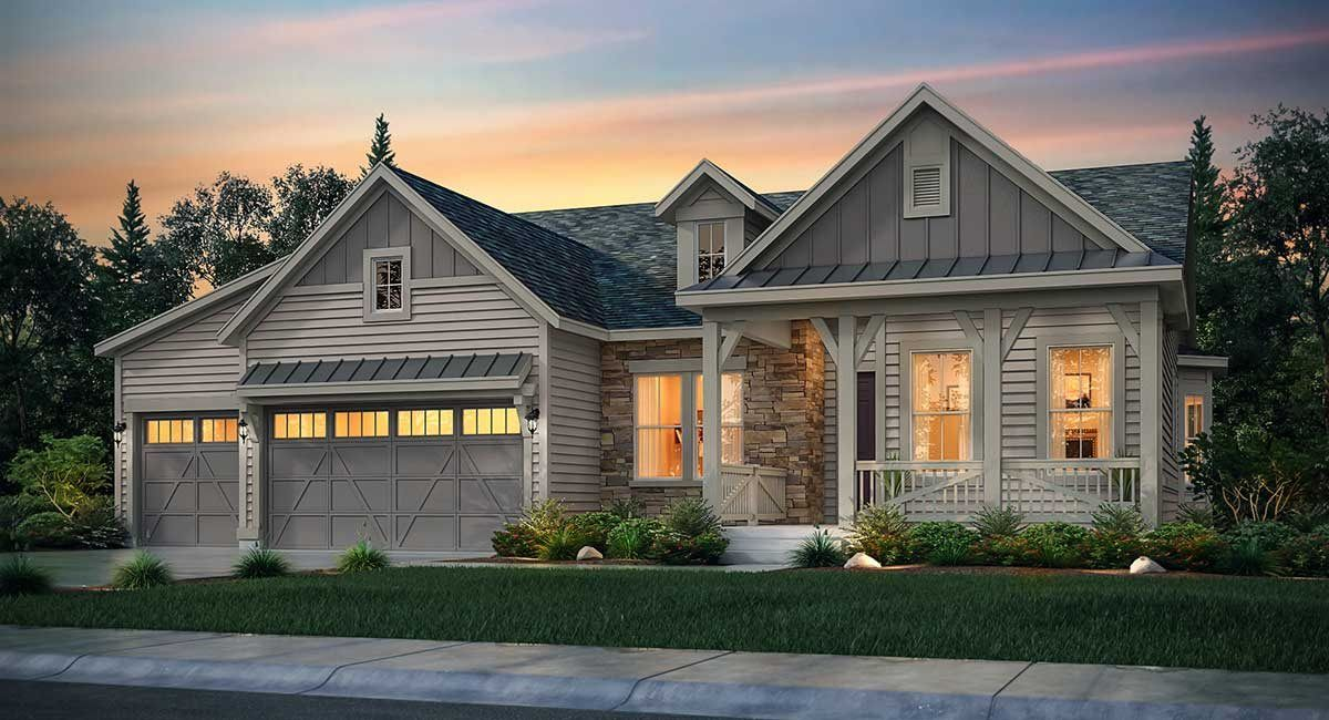 Single Family for Active at Castle Valley - The Legends Collection - Trevino 315 Flagstick Point Castle Pines, Colorado 80108 United States