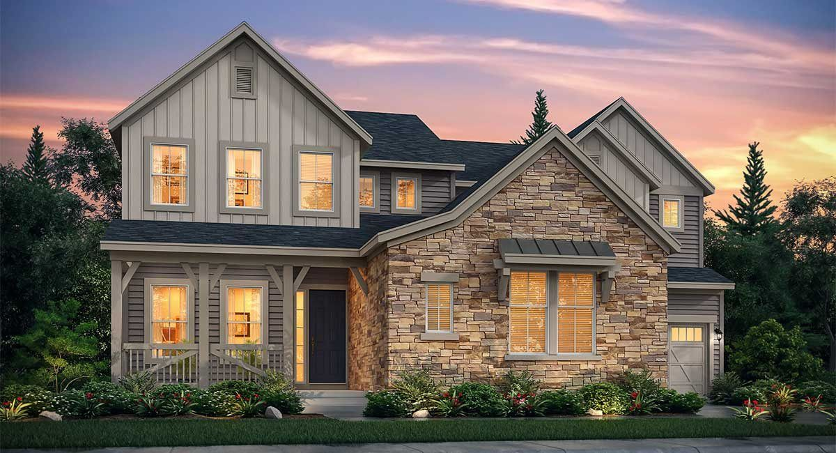 Single Family for Active at Castle Valley - The Legends Collection - Palmer 315 Flagstick Point Castle Pines, Colorado 80108 United States