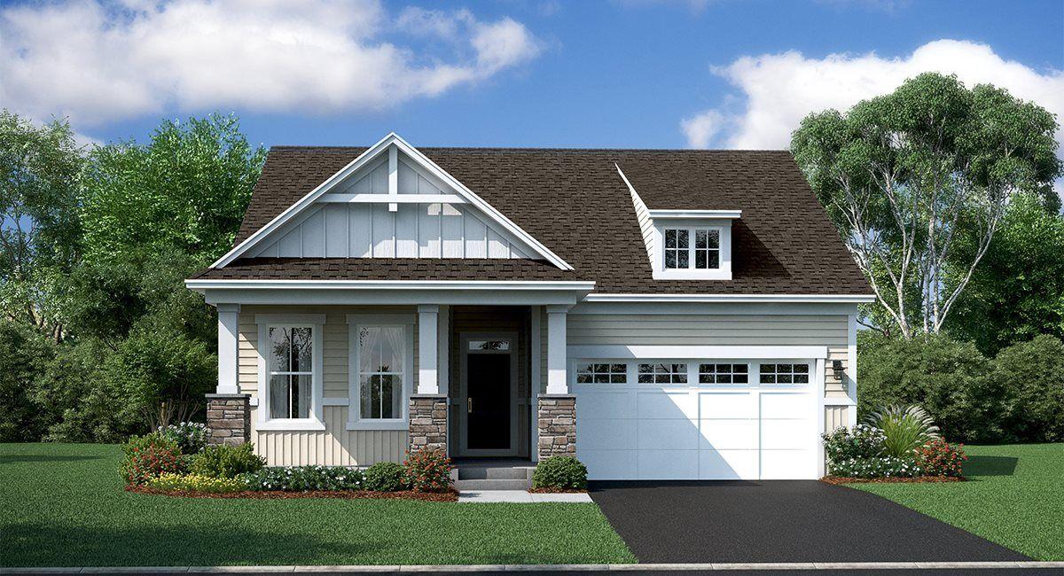 单亲家庭 为 销售 在 Minnetonka Country Club - Luxury Villa Collection - Olympia 5765 Wooden Cleek Drive Shorewood, Minnesota 55331 United States