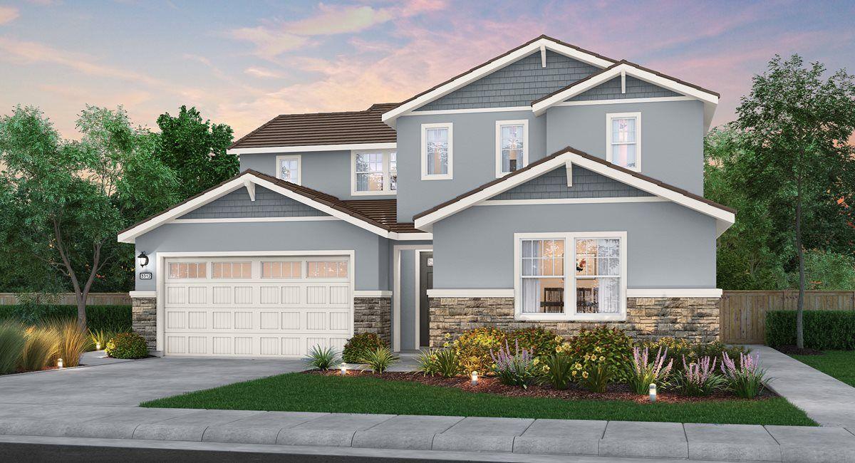 单亲家庭 为 销售 在 Residence 3312 12766 Blueblanc Way Rancho Cordova, California 95742 United States