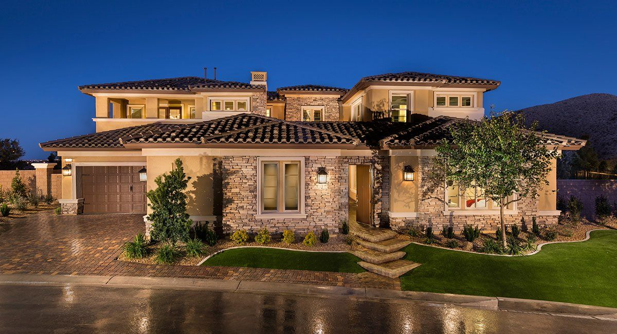 Single Family for Active at Southern Highlands - Olympia Ridge - Residence Six 8 Olympia Chase Drive Las Vegas, Nevada 89141 United States