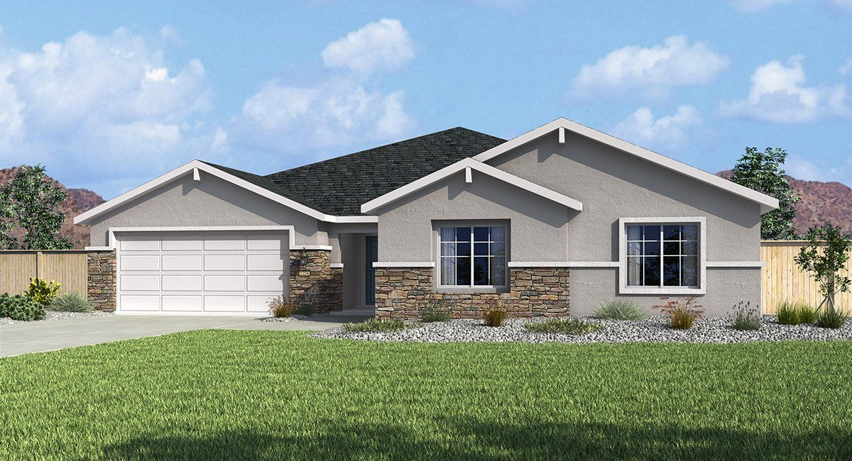 Single Family for Active at Eagle Station At Schulz Ranch - The Shire 6508 Arc Dome Drive Carson City, Nevada 89701 United States