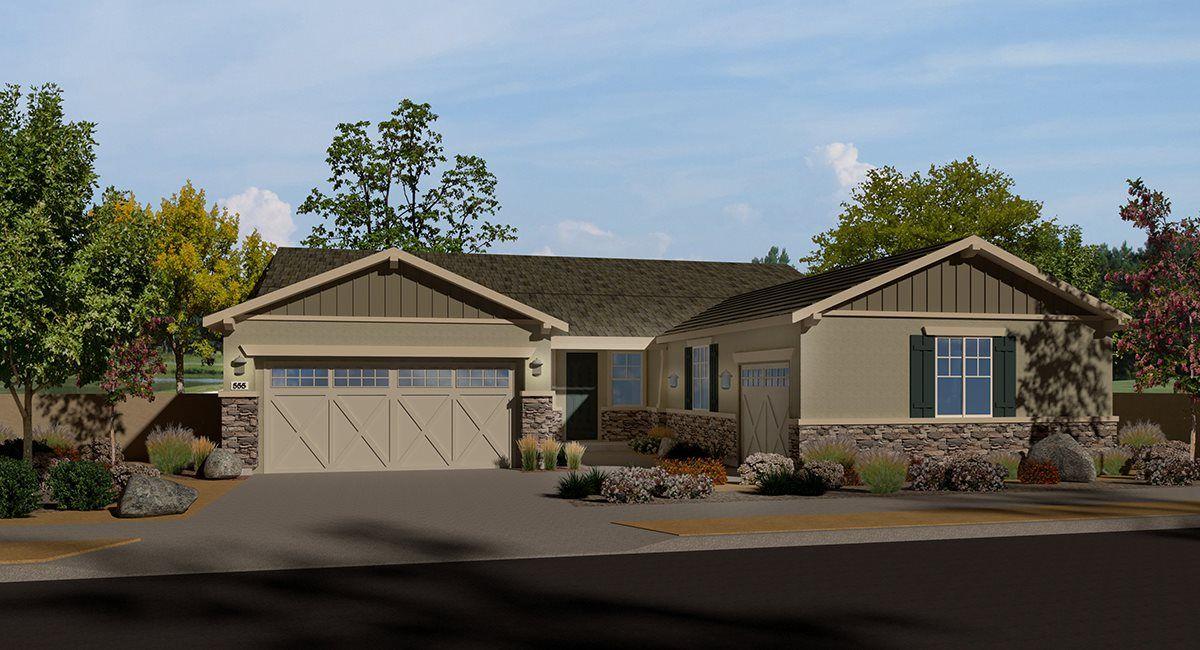 Single Family for Active at Shady Trails - Laurel Oak - Residence Two 5217 Sammy Hagar Way Fontana, California 92336 United States