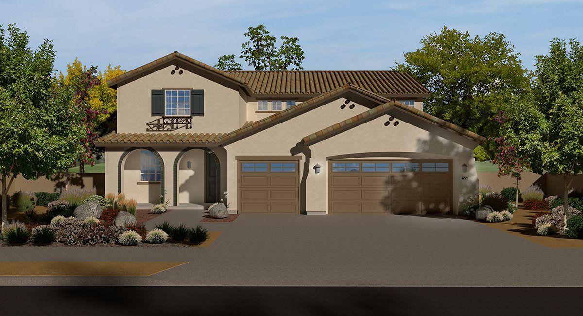 Single Family for Active at Shady Trails - Laurel Oak - Residence Four 5217 Sammy Hagar Way Fontana, California 92336 United States