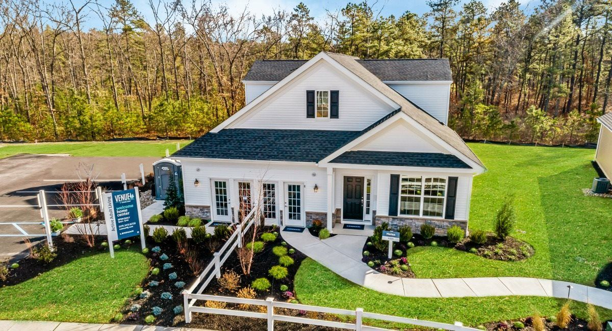 Single Family for Active at Venue At Woodlands - Merion 180 County Road 539 Manchester, New Jersey 08759 United States