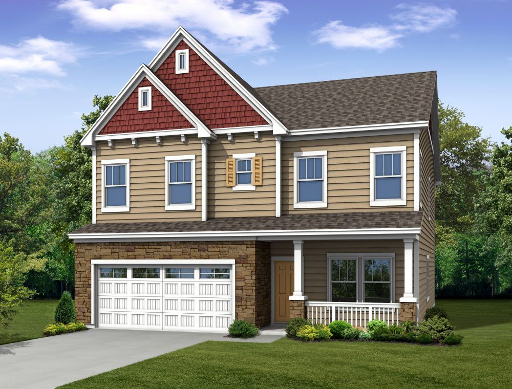 Traditions at wake forest new homes in wake forest nc by for Traditional new homes