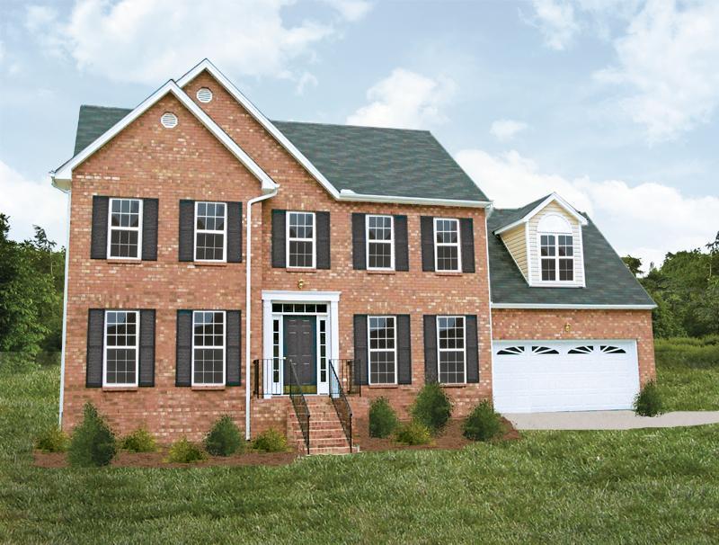 单亲家庭 为 销售 在 Lockridge Homes - Built On Your Land - Raleigh Area - The Nottingham 26 Gar 2 Youngsville, North Carolina 27596 United States