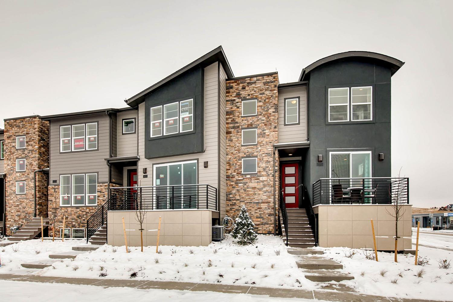 Forty on meadows new homes in castle rock co by lokal homes for Castle rock builders