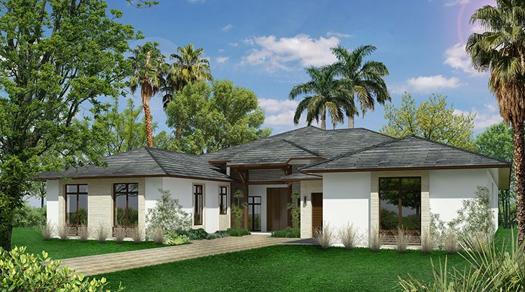"Single Family for Active at Lowell At The Shores At Windmill Reserve - Model ""a"" 19044 Park Ridge St. Weston, Florida 33332 United States"