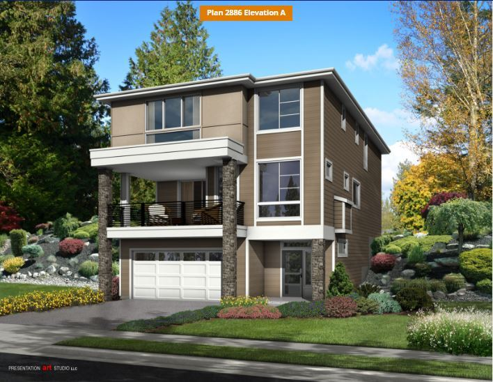 Single Family for Sale at Star Water - Plan 2886 3024 S. 276th Court Auburn Auburn, Washington 98001 United States
