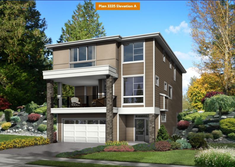 Single Family for Sale at Star Water - Plan 3335 3024 S. 276th Court Auburn Auburn, Washington 98001 United States