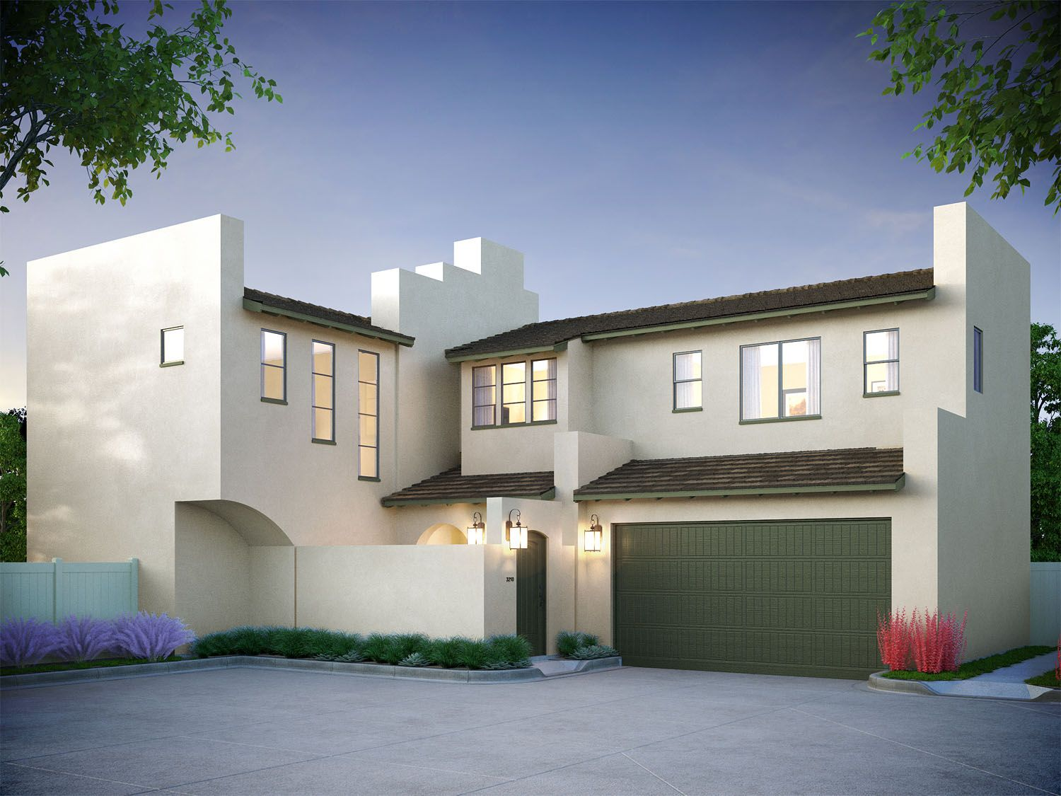 Single Family for Sale at Irving House - Residence 3 2007 North Orange-Olive Road Orange, California 92865 United States