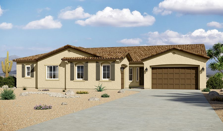 Single Family for Sale at Sunset Terrace - Ryder 13770 W. Bloomington Street Litchfield Park, Arizona 85340 United States