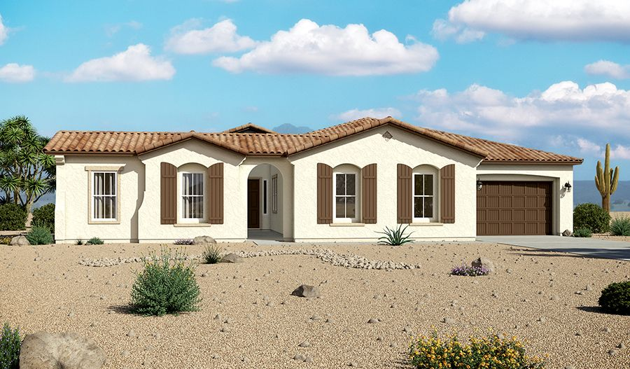 Single Family for Sale at Sunset Terrace - Raven 13770 W. Bloomington Street Litchfield Park, Arizona 85340 United States