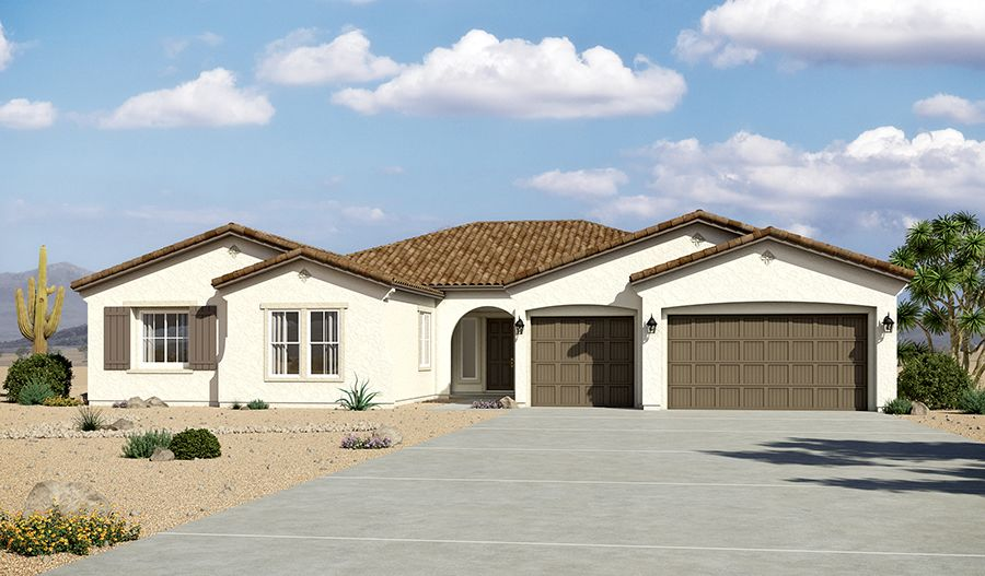 Single Family for Sale at Sunset Terrace - Rocco 13770 W. Bloomington Street Litchfield Park, Arizona 85340 United States