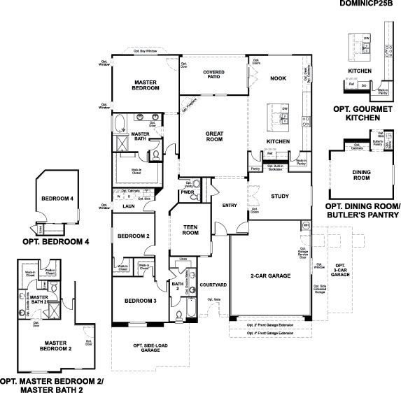 Richmond american homes floor plans arizona for Az house plans