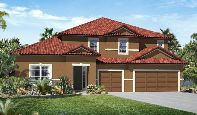 Single Family for Sale at The Estates At Harmony - Francesca 3322 Grande Heron Drive Harmony, Florida 34773 United States