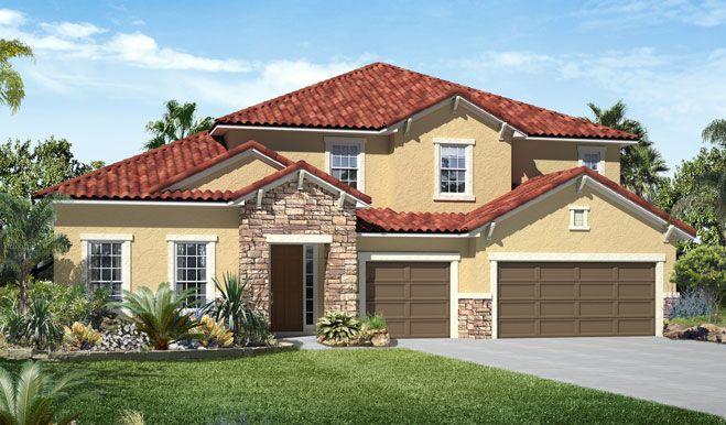 Single Family for Sale at The Estates At Harmony - Francesca 3322 Grande Heron Drive Harmony, Florida 34773 United States