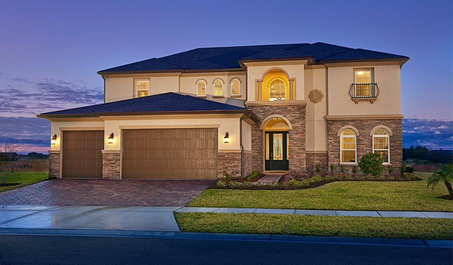 Single Family for Sale at The Estates At Harmony - Hartman 3322 Grande Heron Drive Harmony, Florida 34773 United States