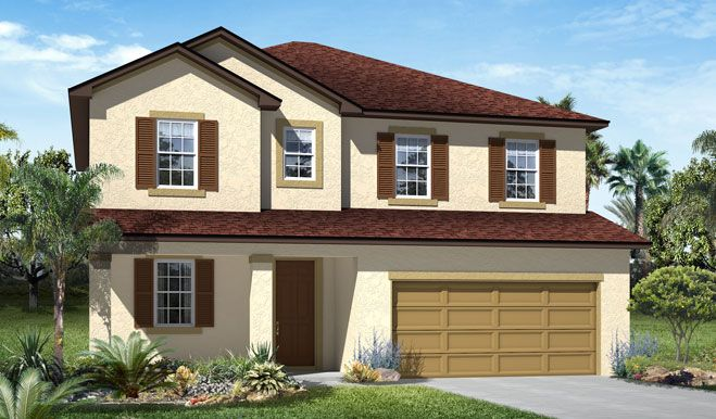 Single Family for Sale at The Sanctuary At Harmony - Hemingway 3322 Grande Heron Drive Harmony, Florida 34773 United States
