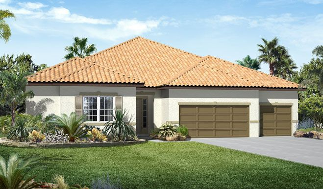 Single Family for Sale at The Estates At Harmony - Holbrook 3322 Grande Heron Drive Harmony, Florida 34773 United States