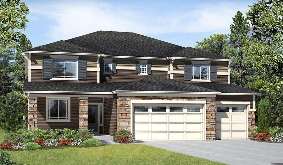 Richmond american homes calla crest zephyr 1221522 for American home builders washington