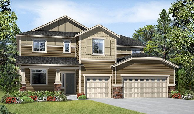 Single Family for Sale at Puyallup Highlands - Dillon 1438 39th St Se Puyallup, Washington 98372 United States