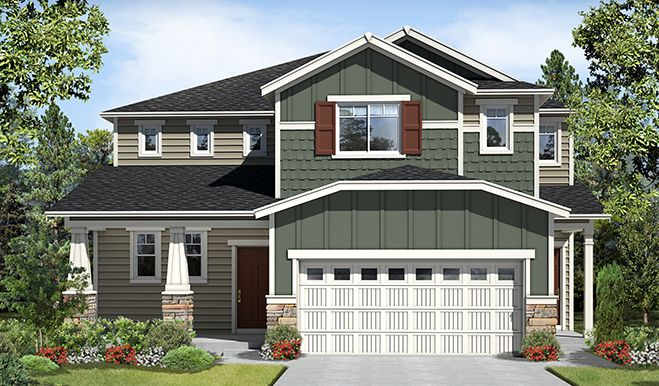 Summerwood park new homes in puyallup wa by richmond for Home builders in puyallup wa