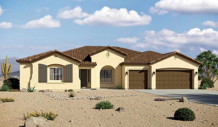 Single Family for Sale at Robert 23074 E. Parkside Drive Queen Creek, Arizona 85142 United States