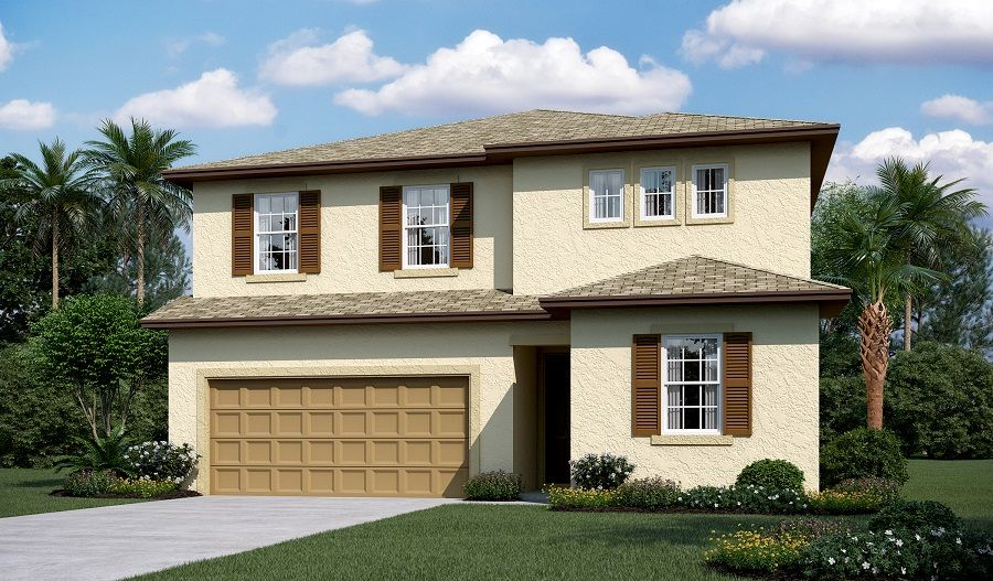 Single Family for Sale at The Ridge At Highland Meadows - Pearl 594 Meadow Pointe Drive Haines City, Florida 33844 United States