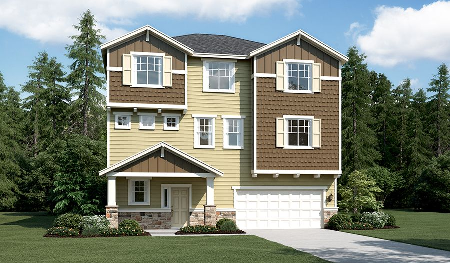 Richmond american homes calla crest ivy 1221520 auburn for American home builders washington